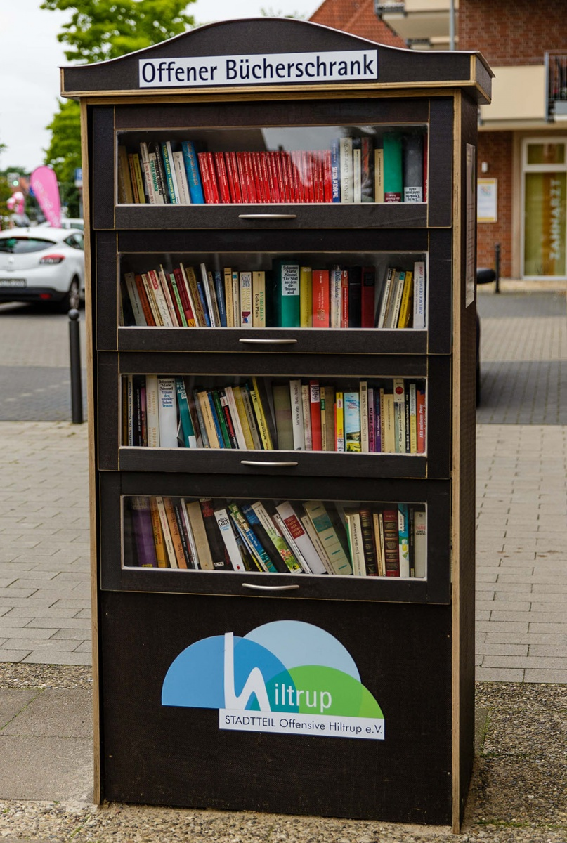 Projekt Offener Bücherschrank   Hiltrup - größter Stadtteil in ...